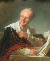 Denis Diderot, 1769, Louvre, París