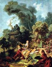 El amante coronado, 1771–73,