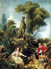 El encuentro secreto, 1771,