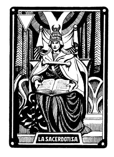 carta 2 ostuni la sacerdotisa